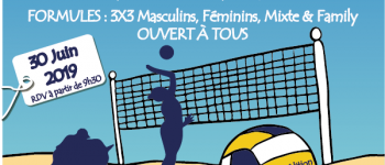 2ème édition du tournoi Beach-Volley ! Montreuil-le-Gast