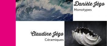 L\Expo | Danièle Jégo - Monotypes & Claudine Jégo - Céramiques Rennes
