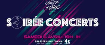 Festival chausse tes tongs présente \soirée concerts\ TREGUIER