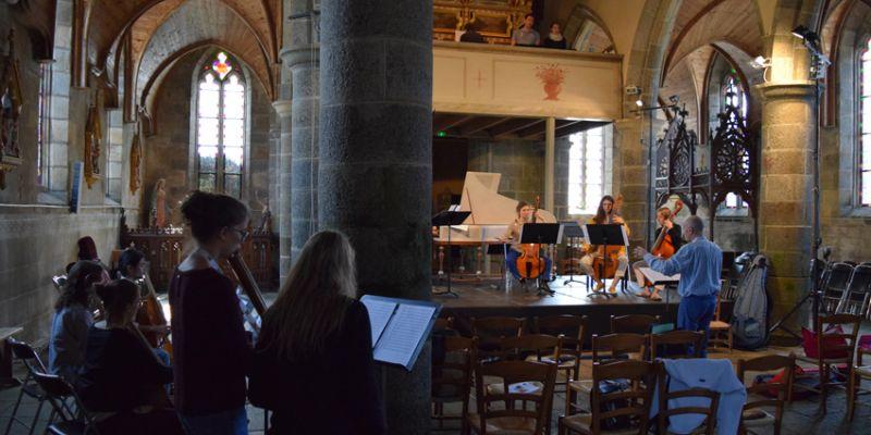 Concert de Clôture de lAcadémie de Musique Baroque de Lanvellec