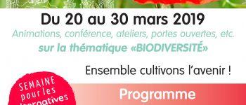 Semaine pour les alternatives aux pesticides 2019 : Ateliers de découverte de la biodiversité (Poissons et invertébrés aquatiques) Jugon-les-lacs commune nouvelle