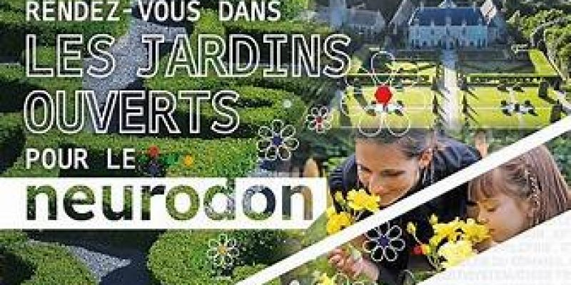 Un jardin à landrévarzec solidaire du neurodon 2019