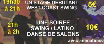 Stage de west coast swing & soirée toutes danses Saint-méloir-des-ondes