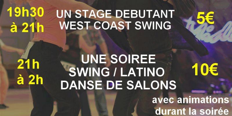 Stage de west coast swing & soirée toutes danses