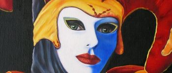 Un air de carnaval vénitien - Exposition de Maud Trivin ROSCOFF
