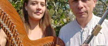 Duo NYGMA en concert(flûtes et harpe)  Auray