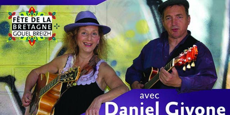EVA Darnay et Daniel Givone en concert Toutes voiles dehors
