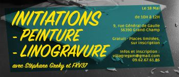 Initiation à la linogravure Grand-champ