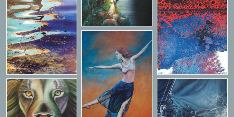 Exposition – 20 artistes pour l'exposition du Groupe des peintres malouins