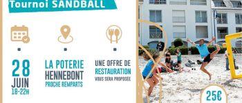 Tournoi de Sandball Hennebont