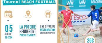 Tournoi de Beach Football Hennebont