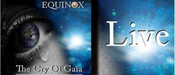 Showcase du groupe equinox pour fêter la sortie européenne de l\album the cry of gaïa Nantes