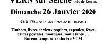 Bourse aux livres et aux collections Vern-sur-Seiche