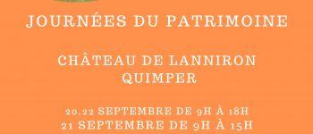 Journée du Patrimoine au Château de lanniron Quimper