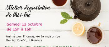 Atelier dégustation de thés bio Saulnières