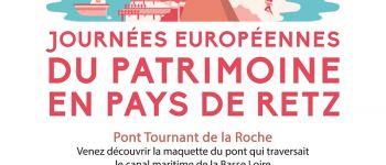 Journées européennes du patrimoine en pays de retz - quai vert Frossay
