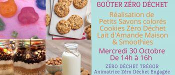 Goûter Zéro Déchet - Petits Savons, Cookies ZD et Lait d\Amande Trégastel