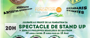 Événement solidaire au profit de la Fondation 3A (Autisme Adulte Autonome) à Sautron le 1er Novembre 2019  Sautron