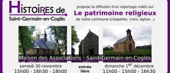 Reportage vidéo sur le patrimoine religieux Saint-germain-en-coglès