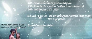 Stage Dans Latines 18H / 23H : Bachata / Rueda de casino (Salsa) / Soirée Grandchamps des Fontaines