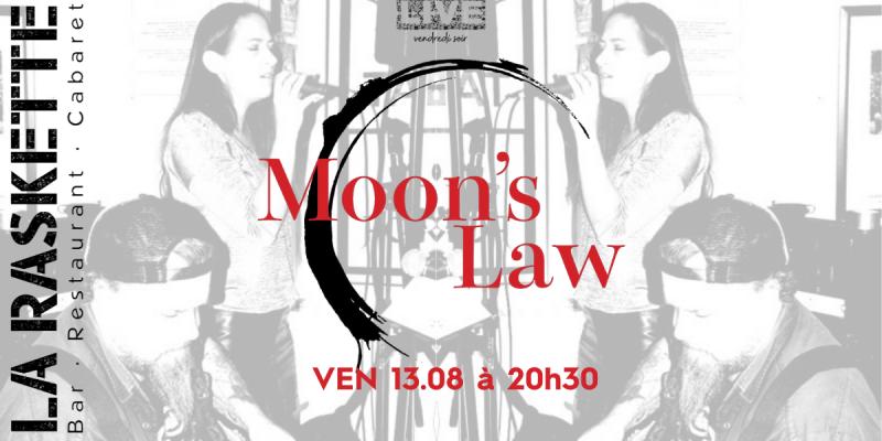 CONCERT LIVE | 100% Pure Rock \\ Moons Law