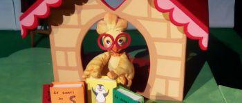 Linette, la poulette qui n\en fait qu\à sa tête. le cirque Locronan