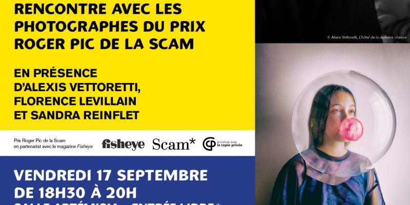 Le Festival Photo La Gacilly et la Scam proposent une soirée dédiée à la photographie humaniste en présence des photographes lauréats du Prix Roger Pic de la Scam.