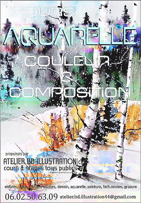 Image Cours & Stages d'Aquarelle