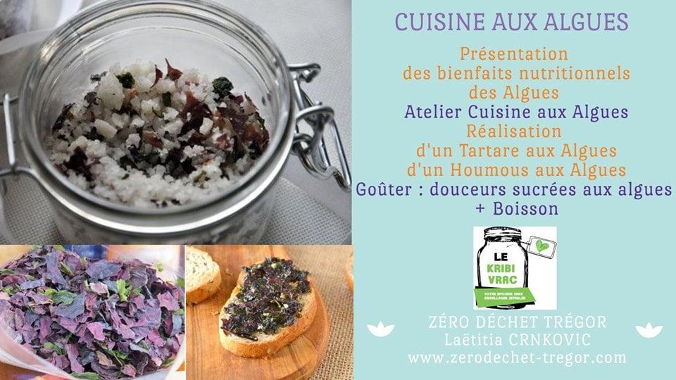 Cuisine Aux Algues Bretonnes Tartare Et Houmous Aux Algues
