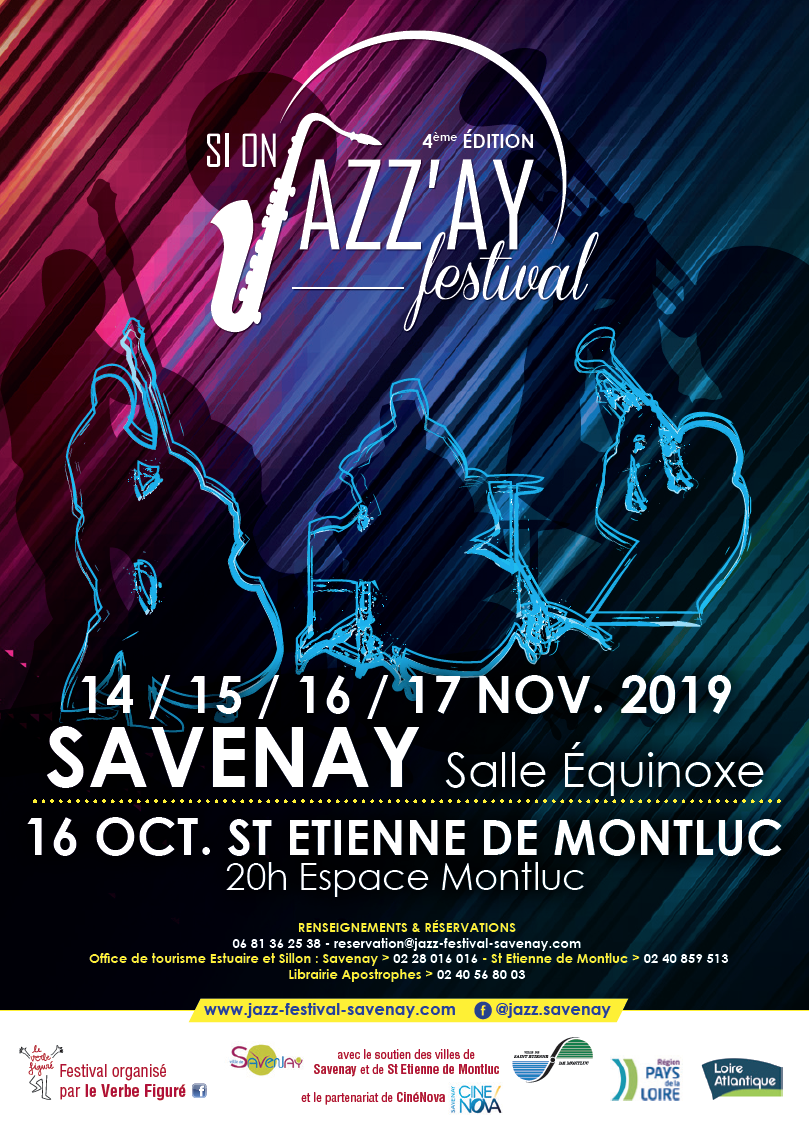 Jardins Et Paysages Savenay si on jazz'ay festival 2019 savenay - 14-11-2019 - 17-11
