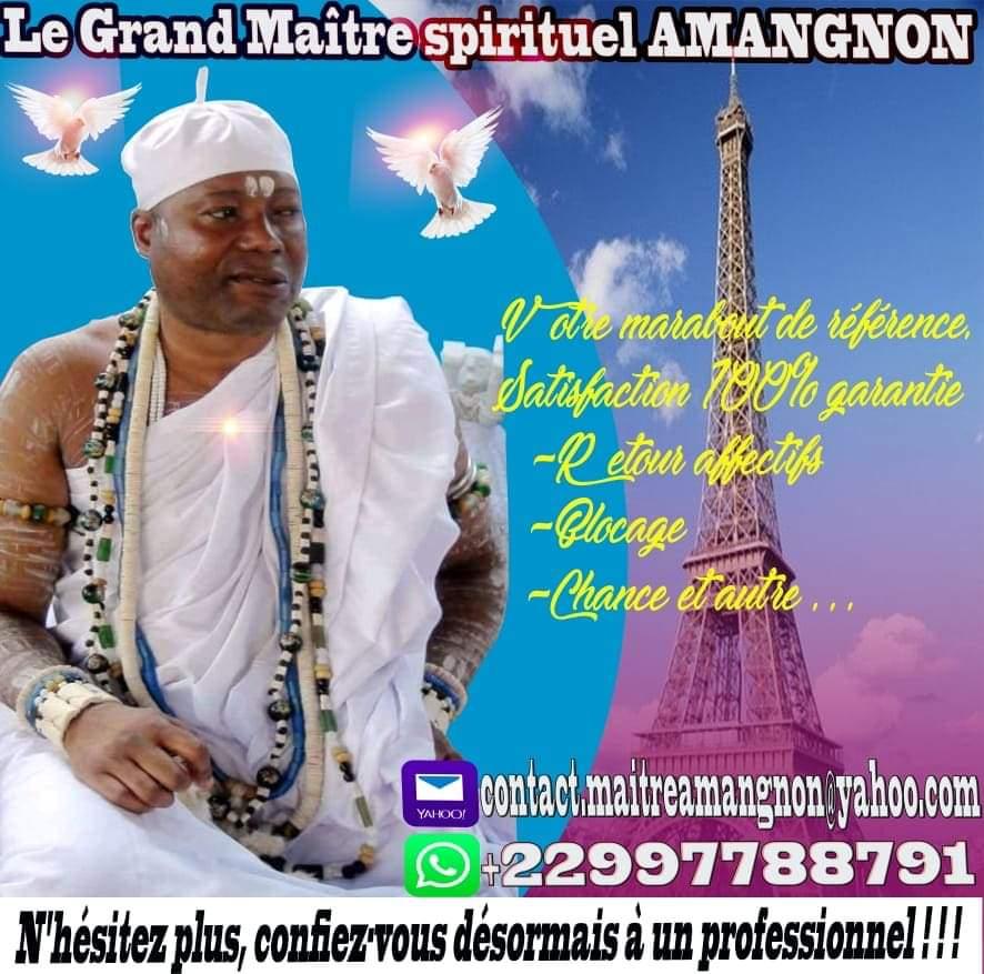Image Grand maître spirituel amangnon, votre marabout de référence